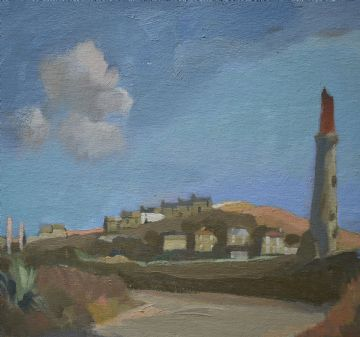 Ken Symonds Original Oil Painting Carn Gloose St Just Cornwall